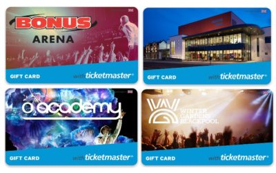 Two more venue branded e-gift cards launched