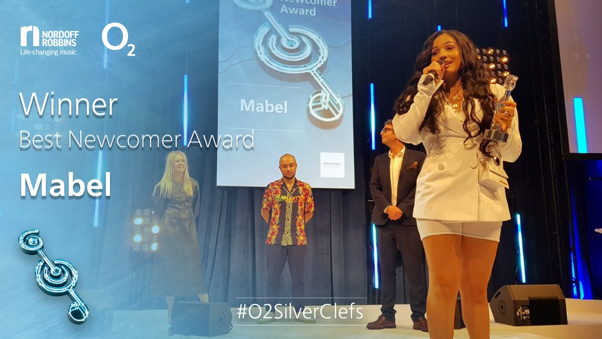 Mabel wins Best Newcomer award at O2 Silver Clefs